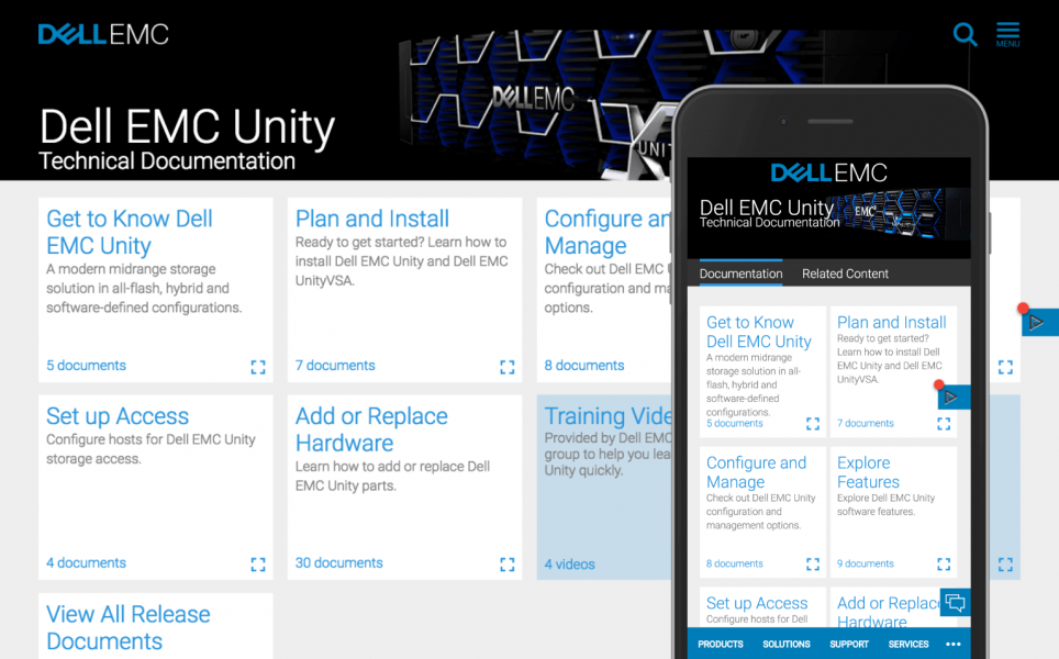Dell EMC Unity Tech Docs