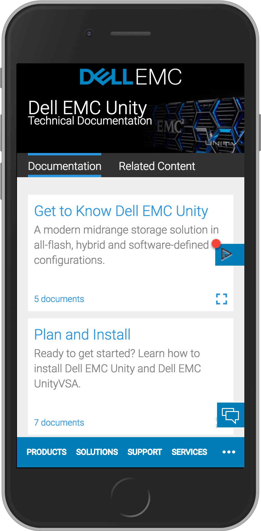 Dell EMC Technical Documents » Ian Armstrong | UX Design